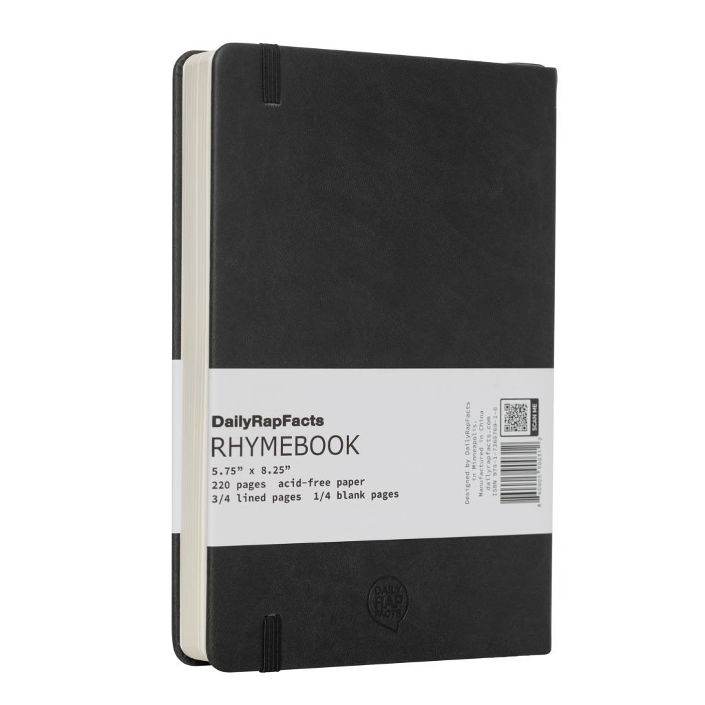Back of Black Rhyme Book