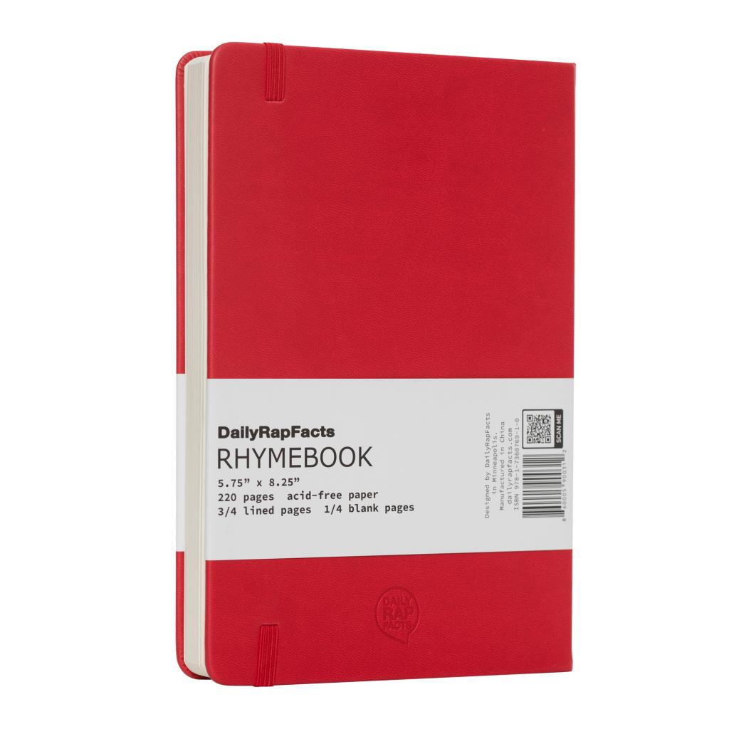 Back of Red Rhymebook
